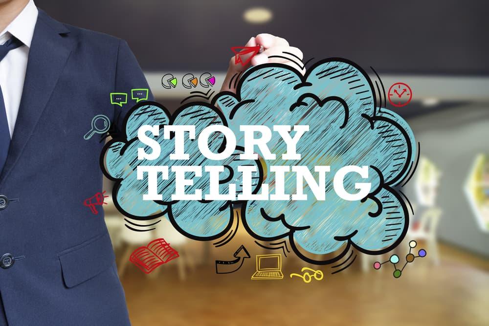最近よく聞くストーリーテリングって何?